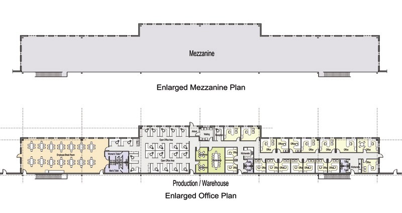 Manage Building Office Floor Plans For 700720 SF Site