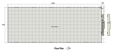 700,720 SF Production Area Floor Plan