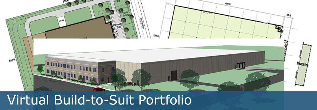 virtual build to suit portfolio created by angus young