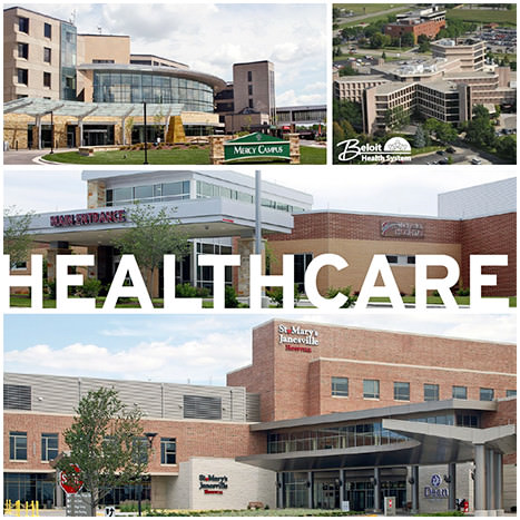 Rock County is home to an extensive healthcare network