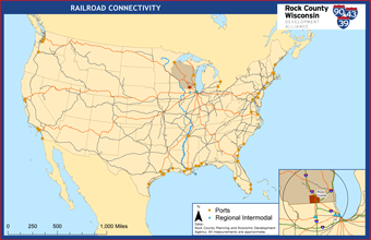 Railroad Connectivity Map